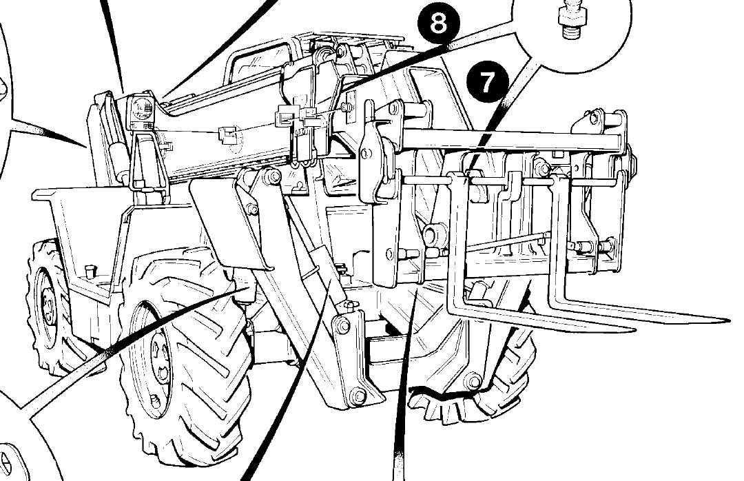 JCB 500 Series Loadalls Factory Service & Shop Manual