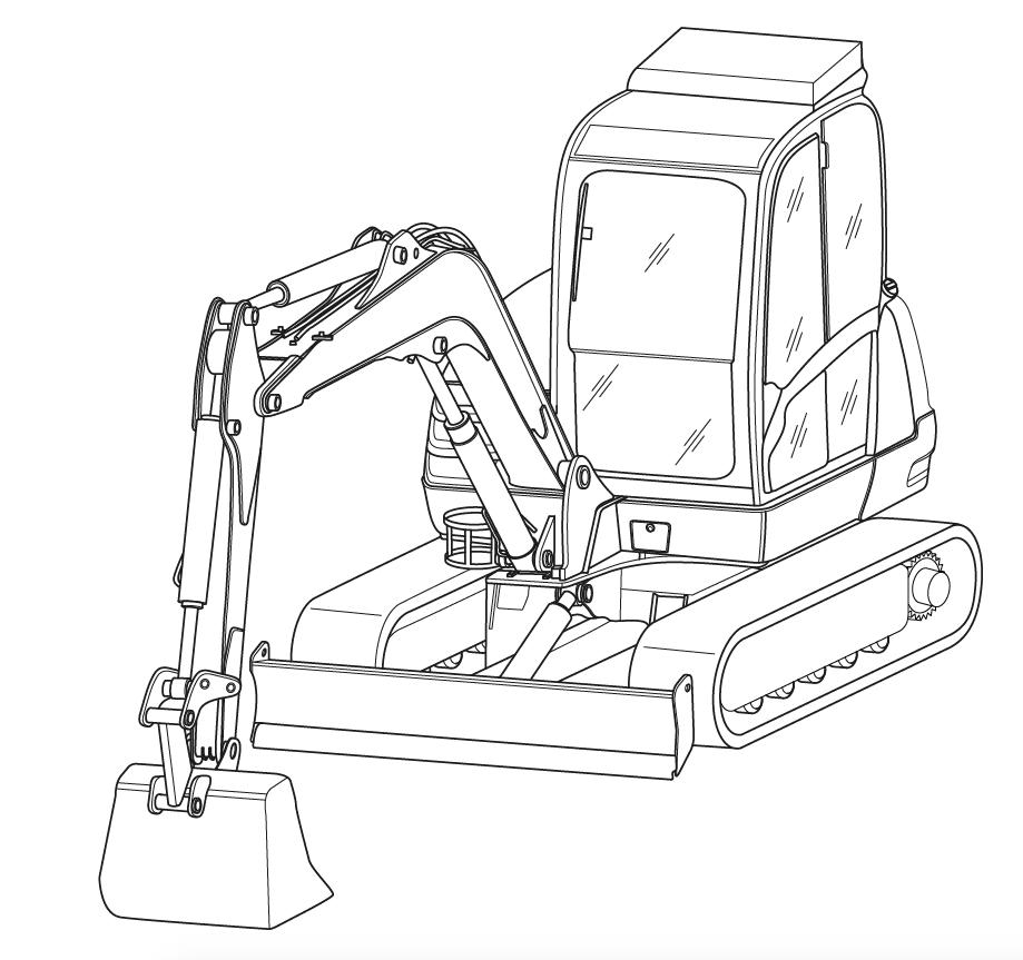 JCB Excavators 8061 Factory Service & Shop Manual