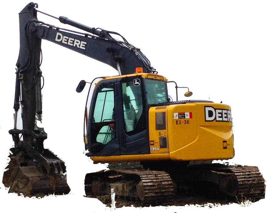 John Deere 135d Excavator Operation And Test Manual