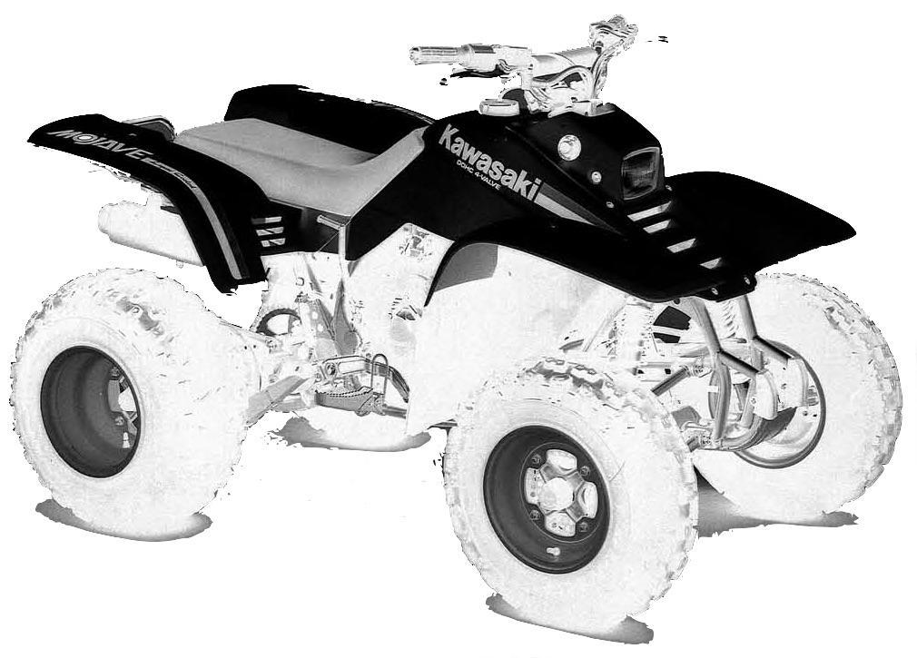 Kawasaki Ksf250 Mojave 1987