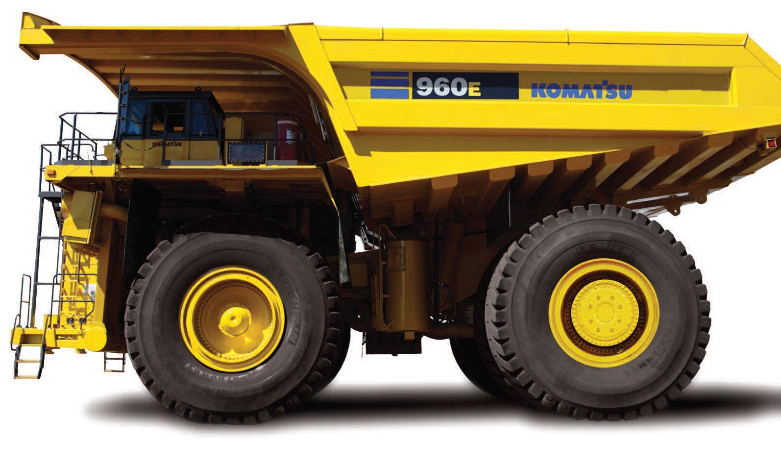 Komatsu Dump Truck 960e