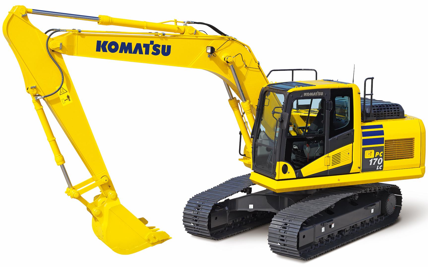 Komatsu Hydraulic Excavator Pc160  Pc170  Pc180 Workshop