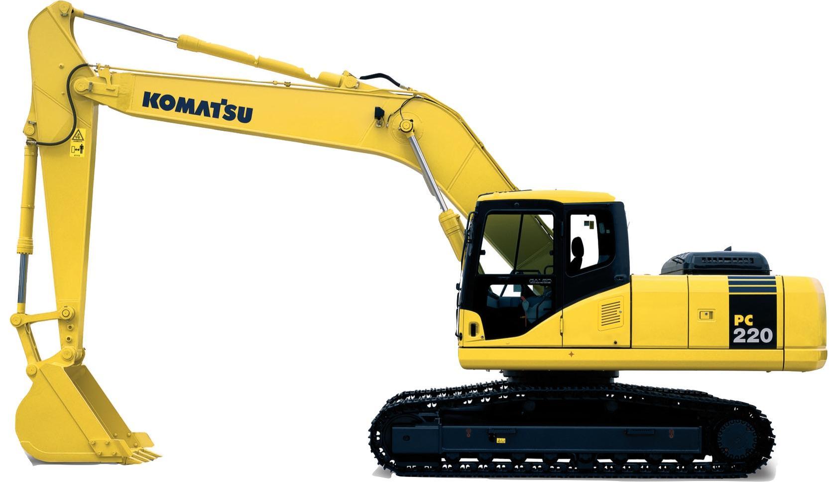 Komatsu Hydraulic Excavator Pc200  U0026 Pc220 Shop Manual