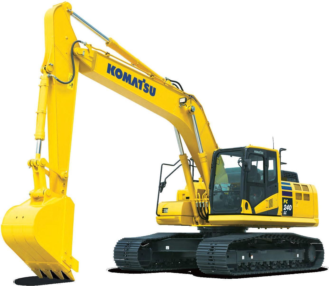 Komatsu Hydraulic Excavator Pc200  Pc210  Pc220  Pc230