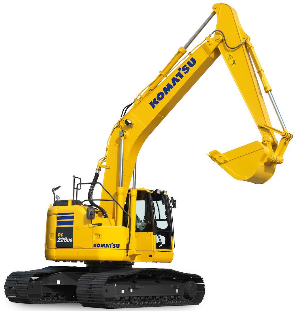 Komatsu Hydraulic Excavator Pc228 Workshop Repair