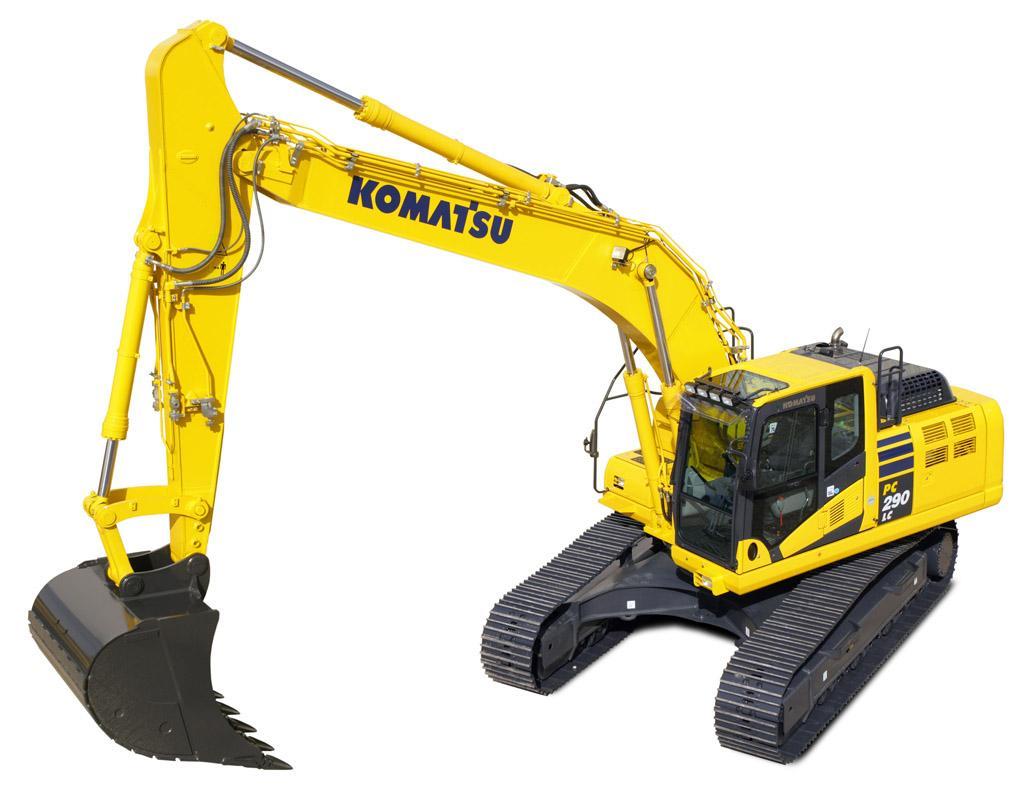Komatsu Hydraulic Excavator Pc290 Workshop Repair