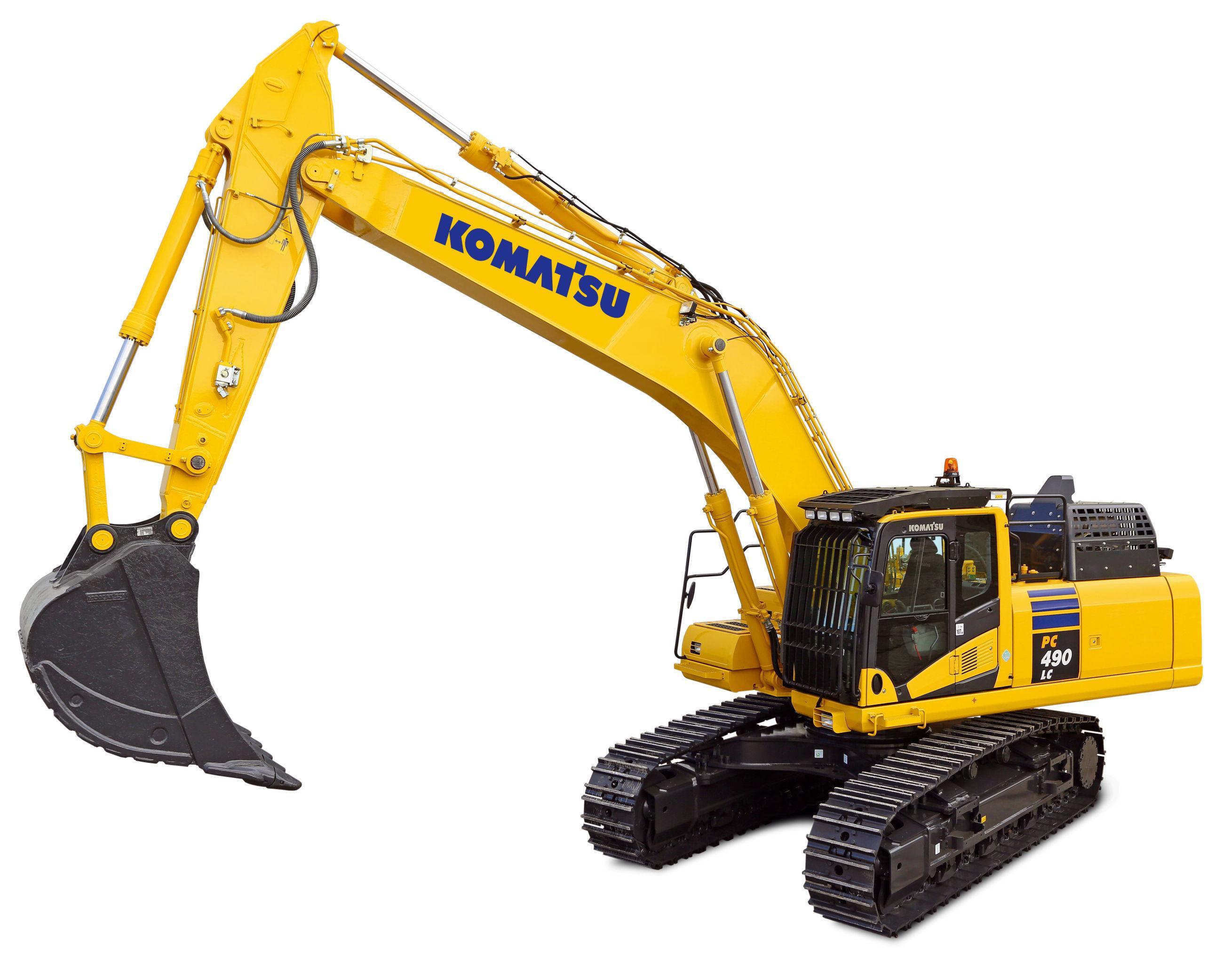 Komatsu Hydraulic Excavator Pc490 Workshop Repair