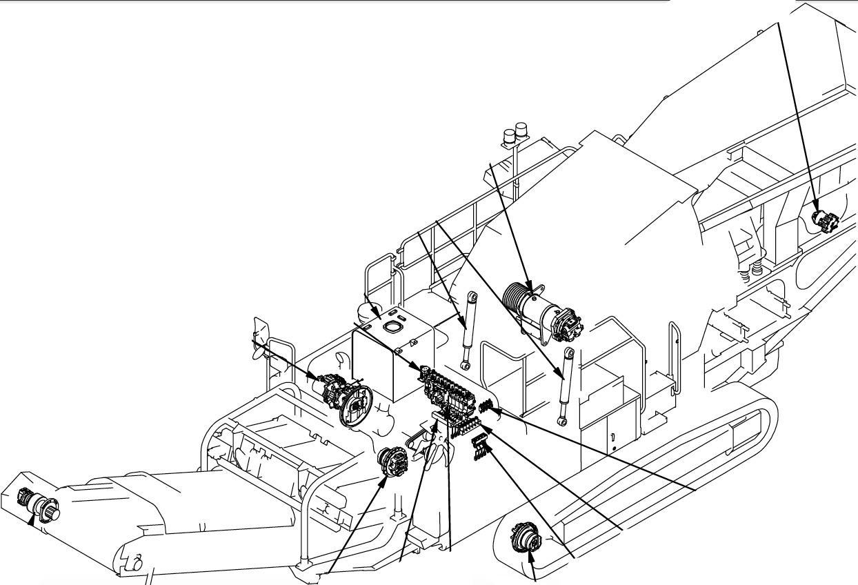 Komatsu Mobile Crusher BR480RG-1 Factory Service & Shop