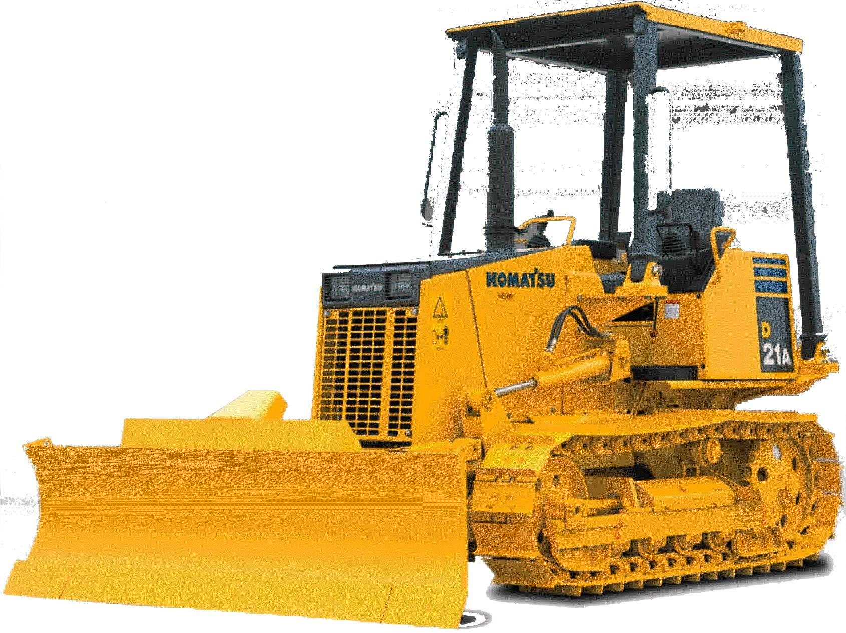 Komatsu Bulldozer D20  D21 Factory Service  U0026 Shop Manual
