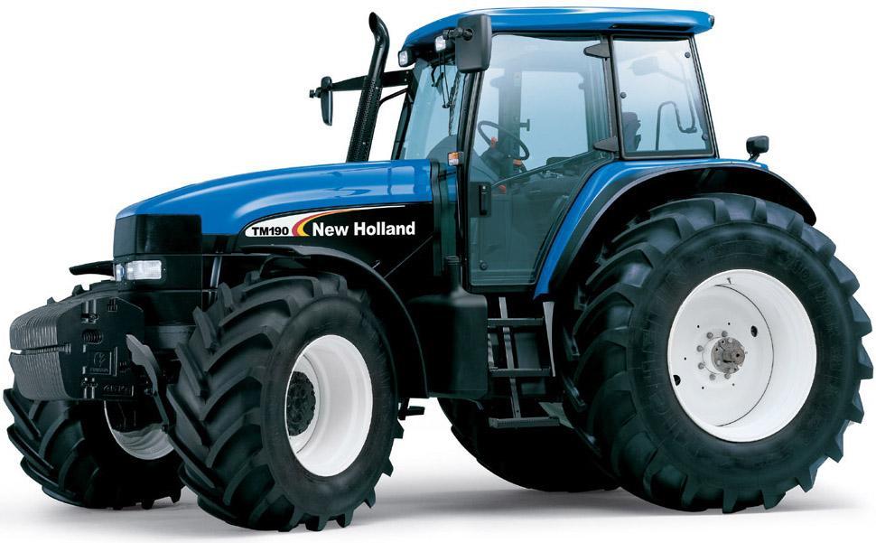 New Holland Tm Series Tractors  Tm120  Tm130  Tm140  Tm155