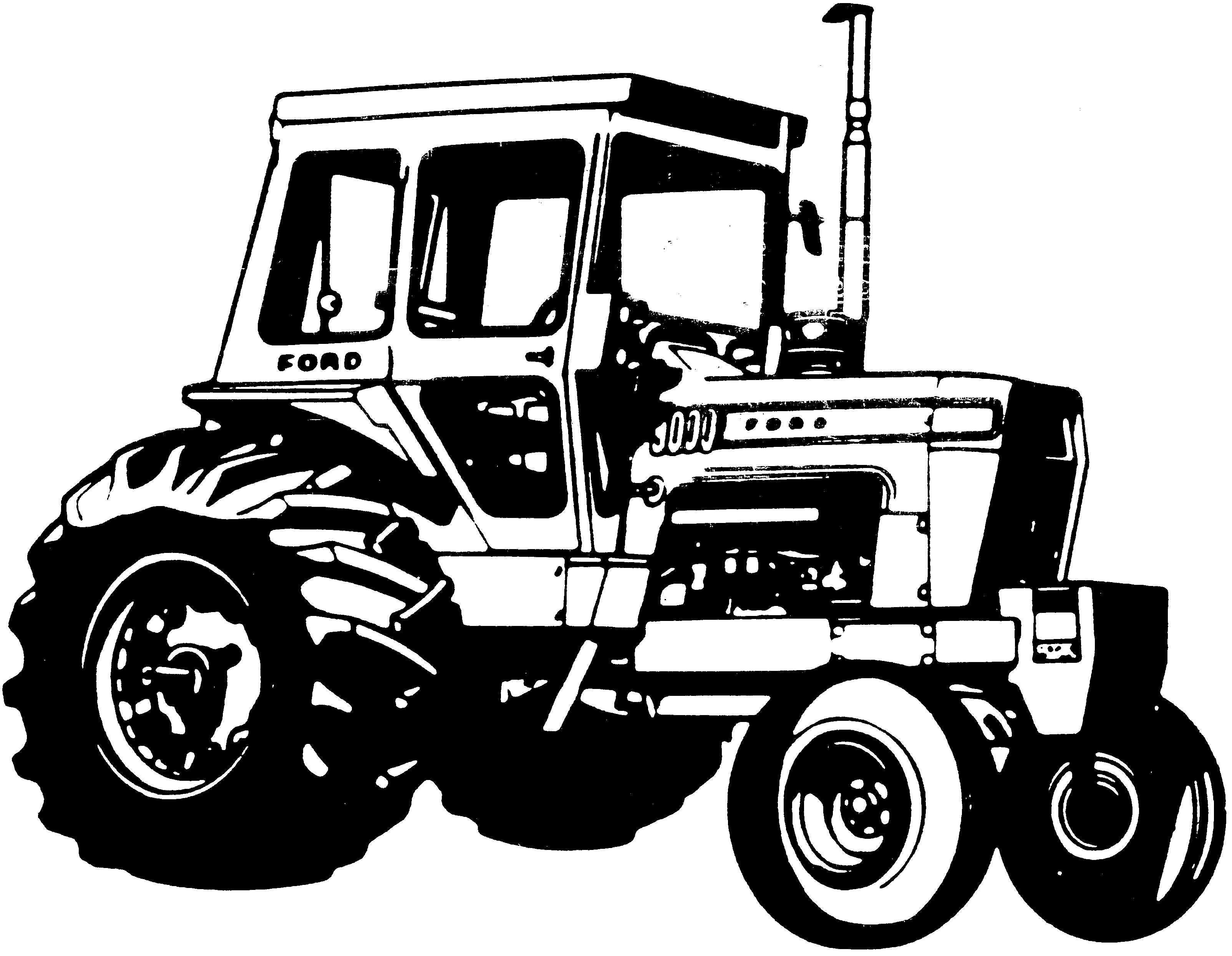 Ford    New Holland 8000  8600  9000  9600 Tractors Factory