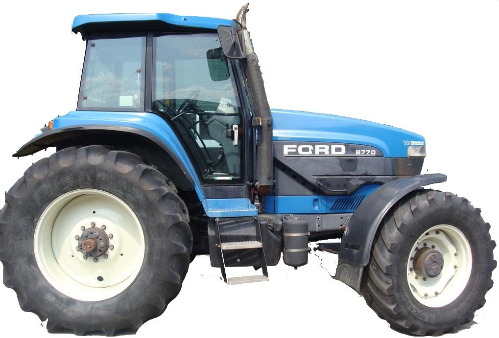 Ford New Holland 70 A  Series Tractors  8670  8670a  8770