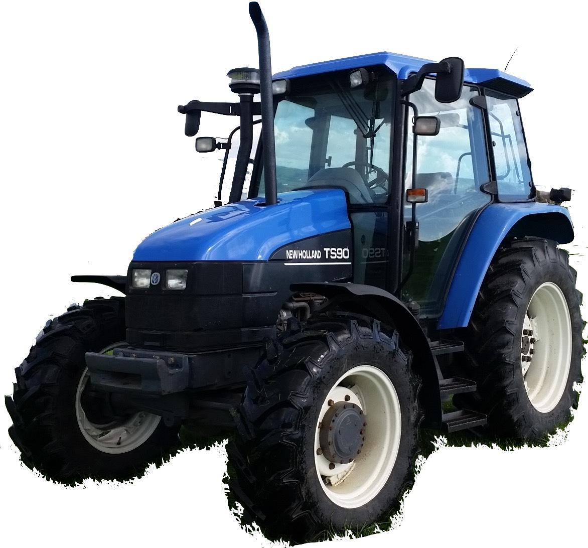 New Holland    Ford Ts90  Ts100  Ts110 Tractors Factory Service  U0026 Shop Manual