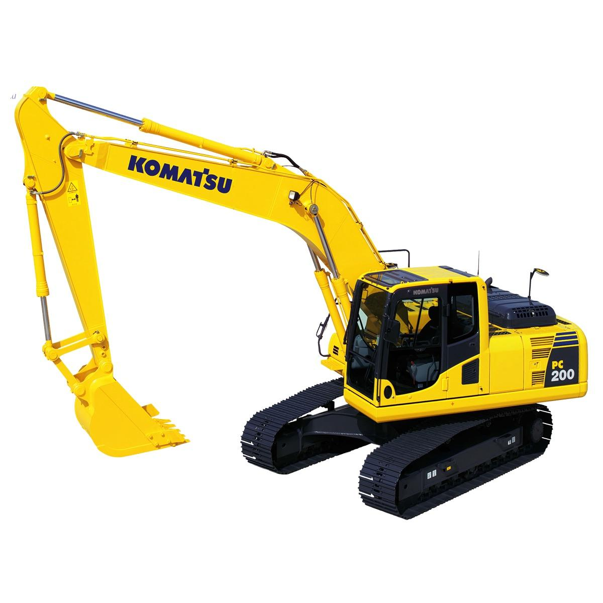 Komatsu Hydraulic Excavator Pc200 Factory Service  U0026 Shop
