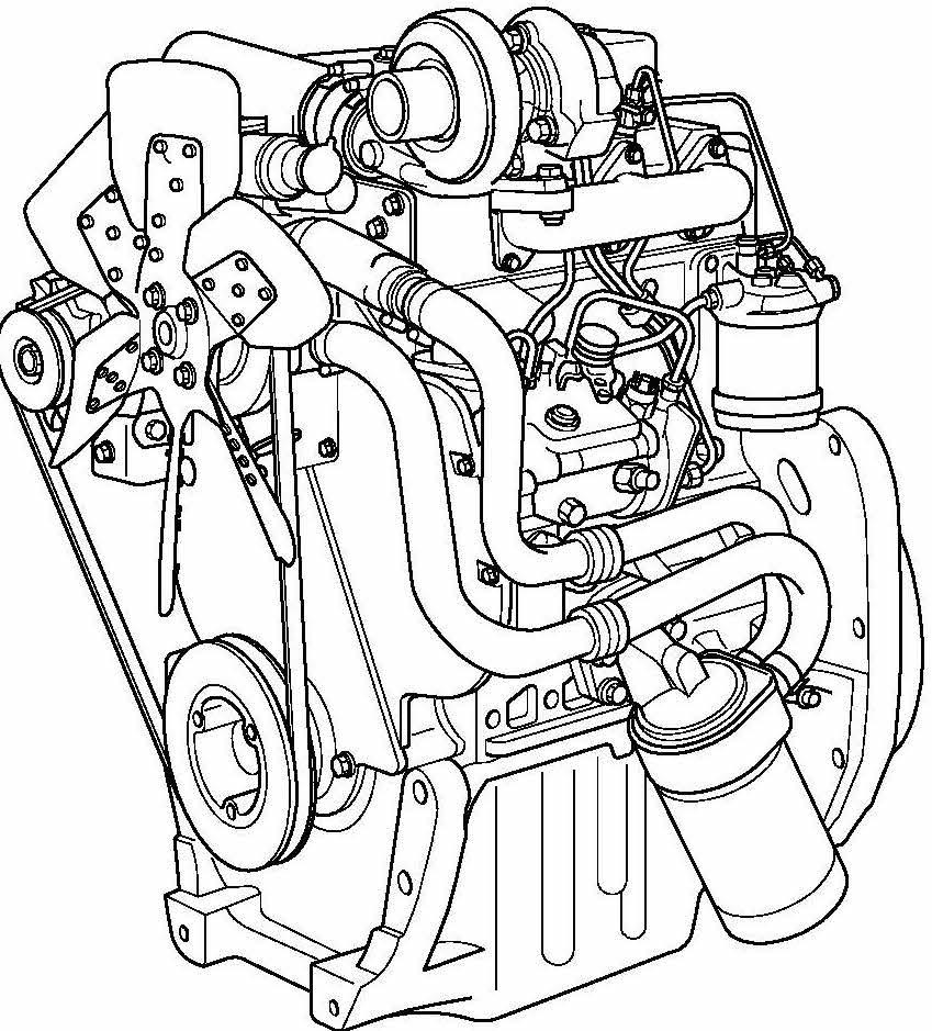 Perkins 900 Series Diesel Engines Factory Service & Shop