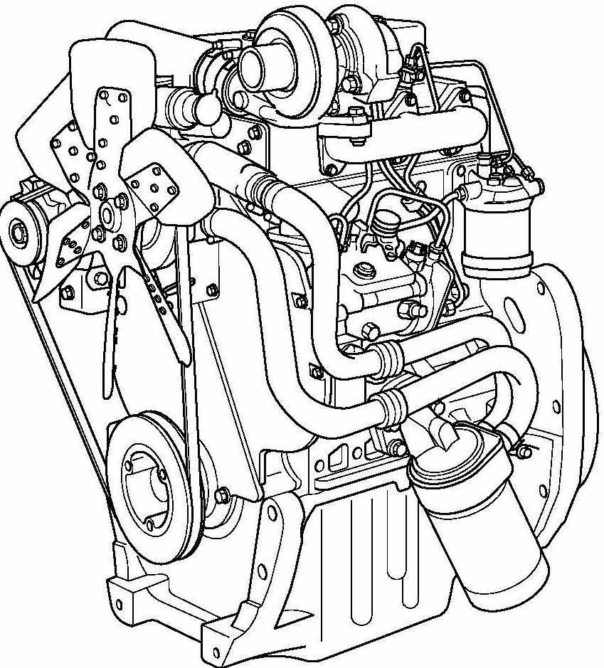Perkins 900 Series Diesel Engines Factory Service  U0026 Shop