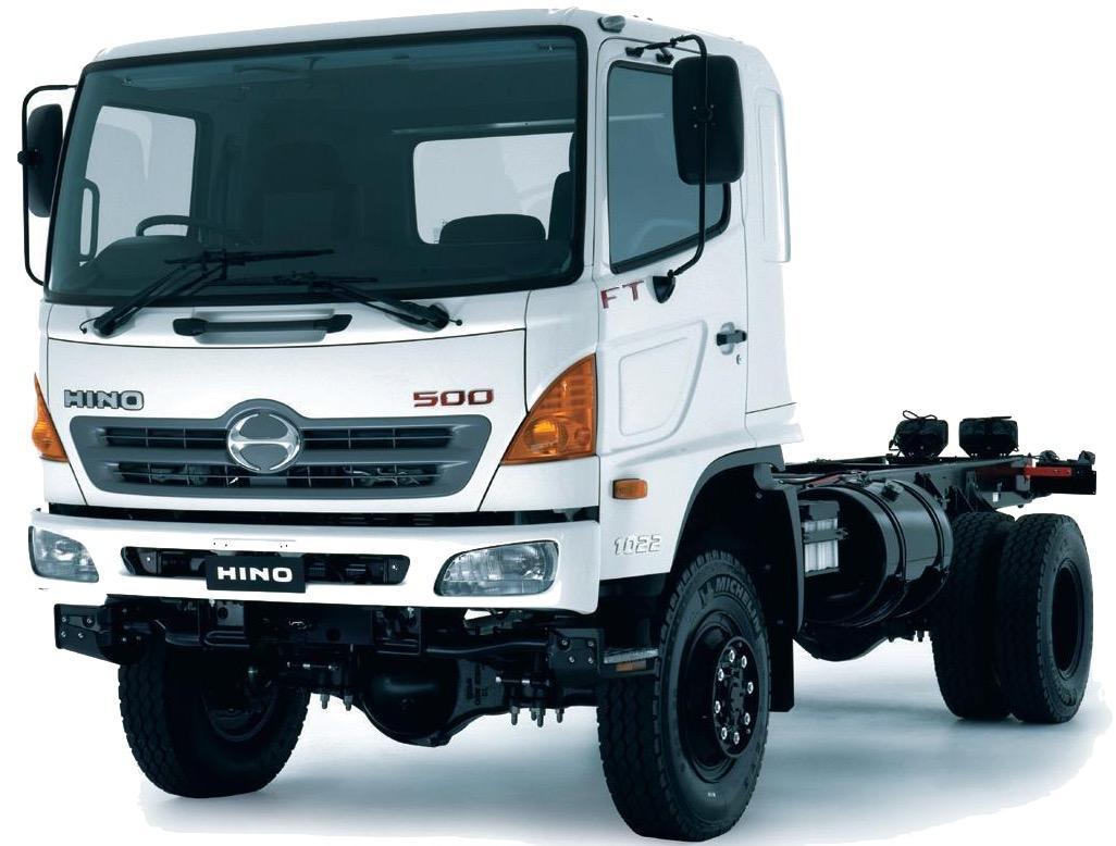 Hino Ranger  500 Series Trucks 2001