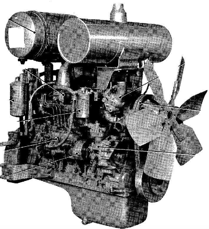 Komatsu 110 Series Diesel Engine Factory Service  U0026 Shop
