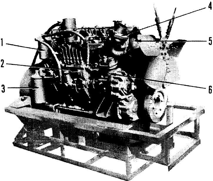 Komatsu 6d105 Series Diesel Engines Factory Service  U0026 Shop