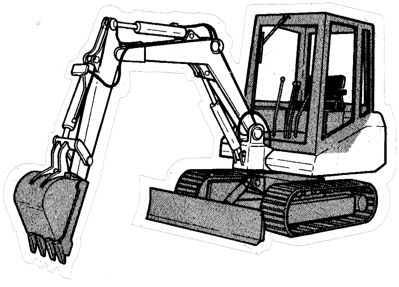 Bobcat 116 Hydraulic Excavator Factory Service & Shop