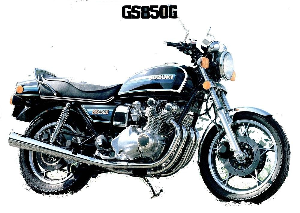Suzuki GS850G 1979-1983 Factory Service & Shop Manual ...