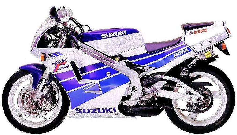 Suzuki Rg125  Rgv250 1989