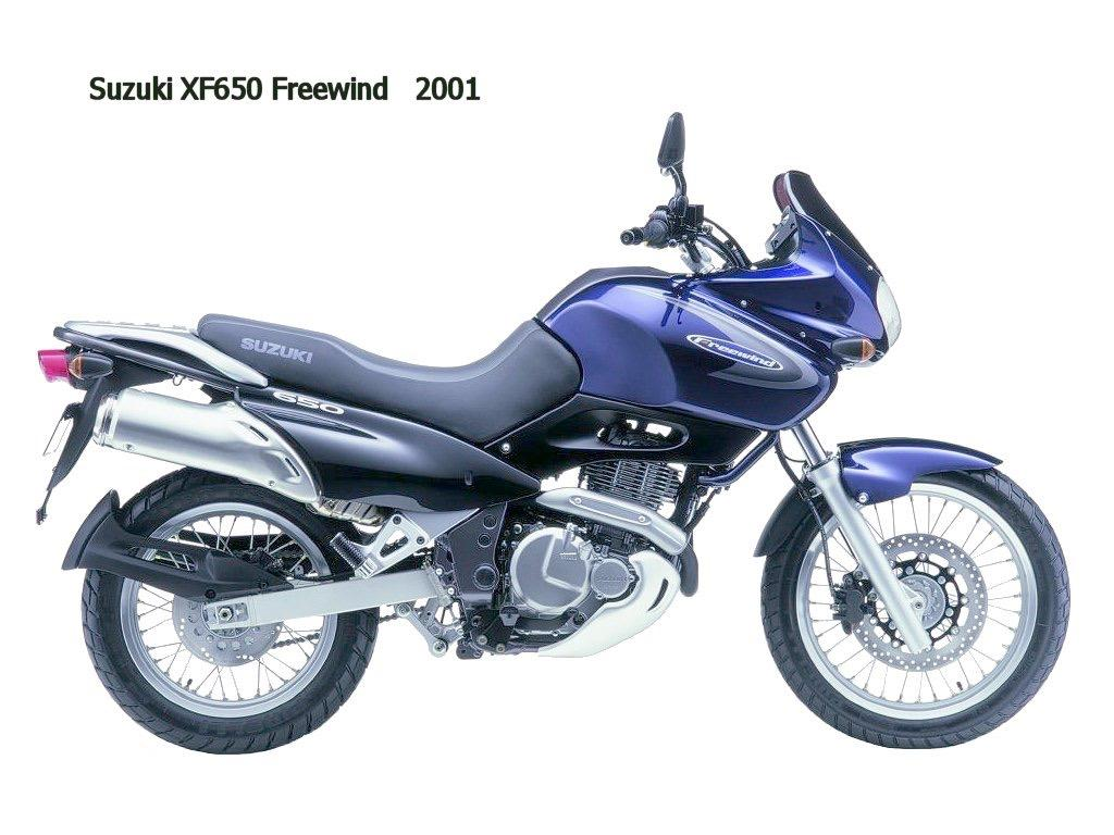 Suzuki Xf650 Freewind Factory Service  U0026 Shop Manual