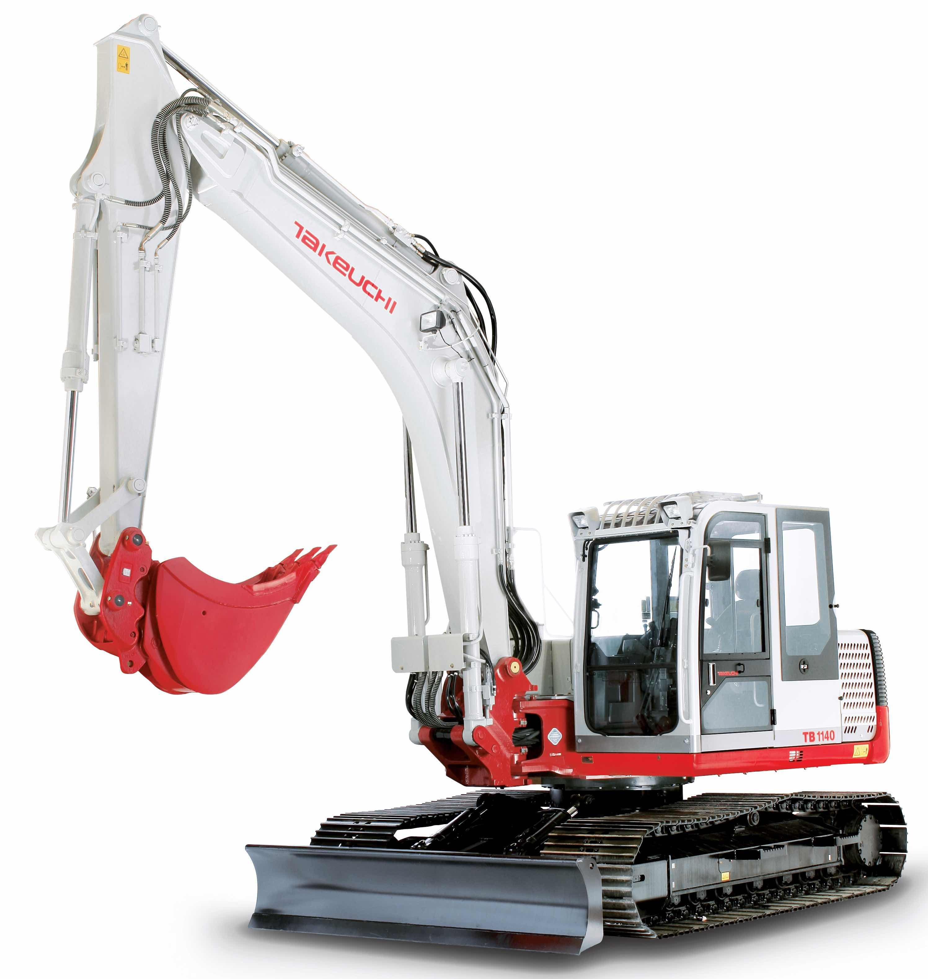 Takeuchi Compact Excavator Tb1140 Factory Service  U0026 Shop