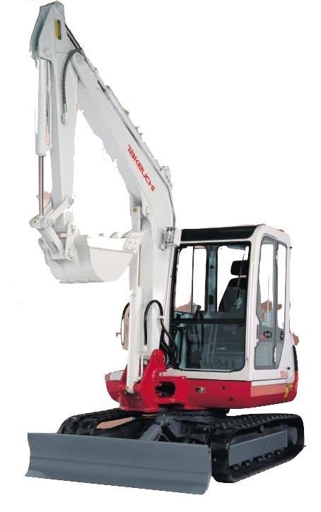 Takeuchi Compact Excavator Tb125  Tb135  Tb145 Factory