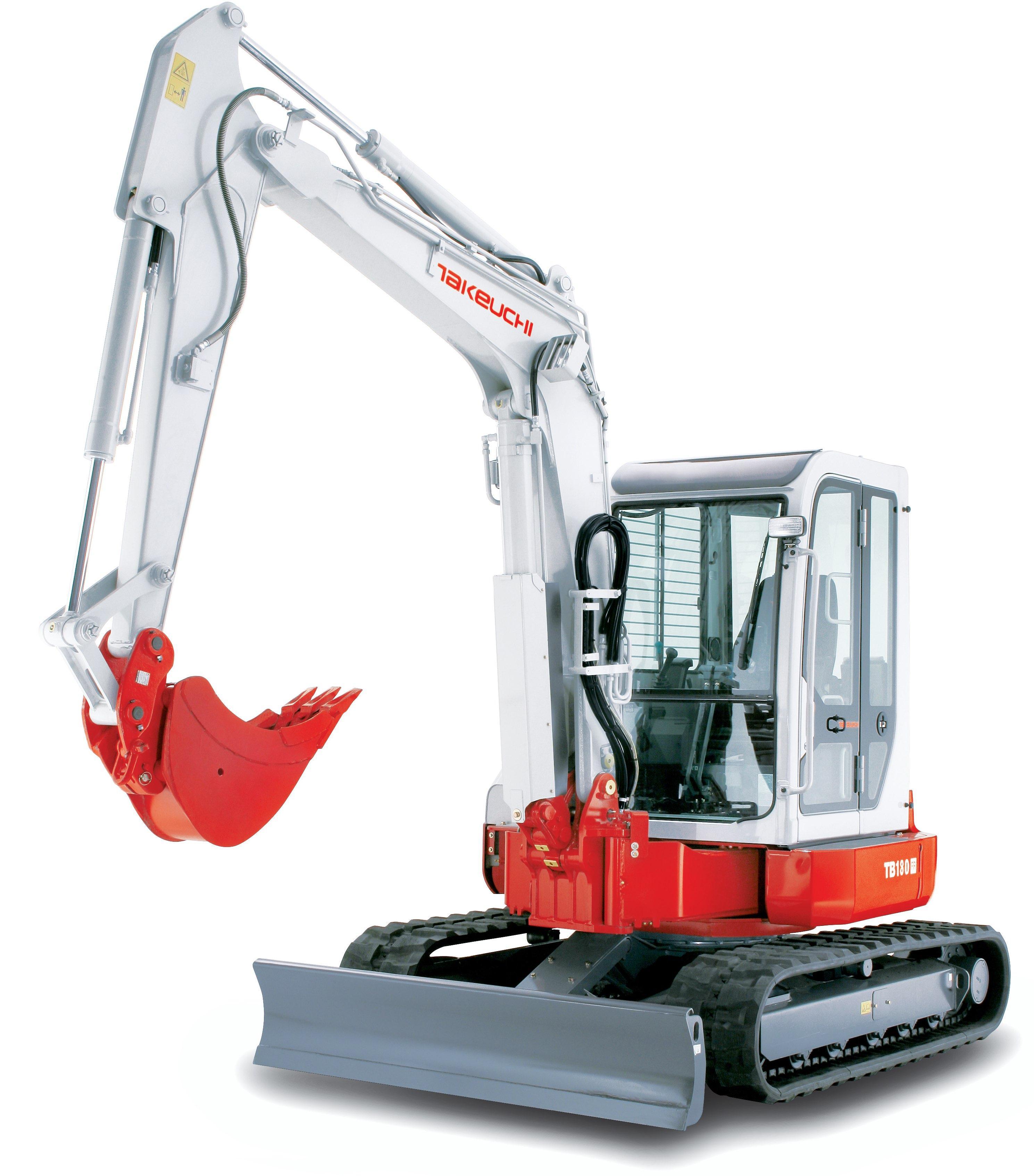 Takeuchi Compact Excavator Tb180fr Factory Service  U0026 Shop