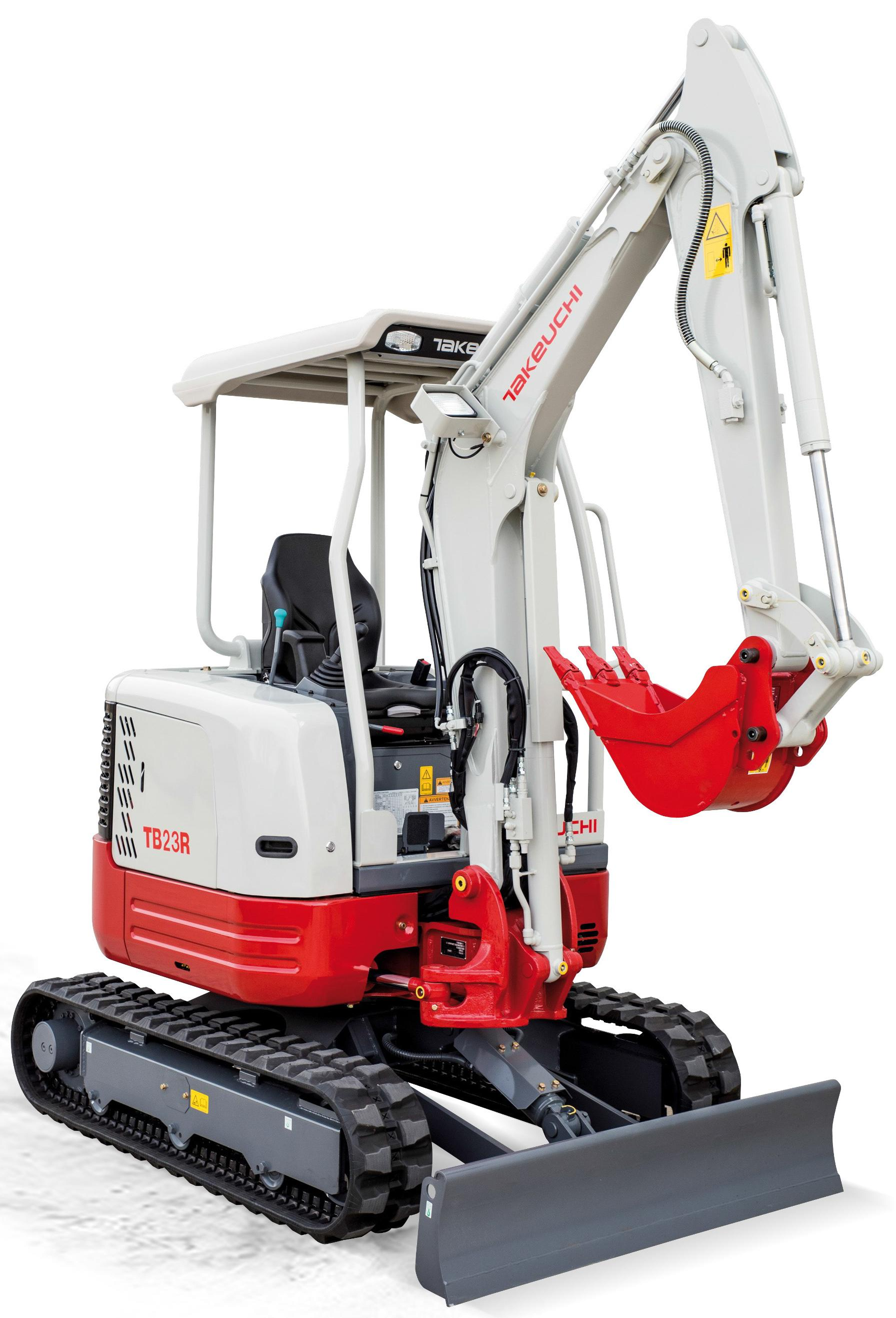 Takeuchi Compact Excavator Tb23r Factory Service  U0026 Shop