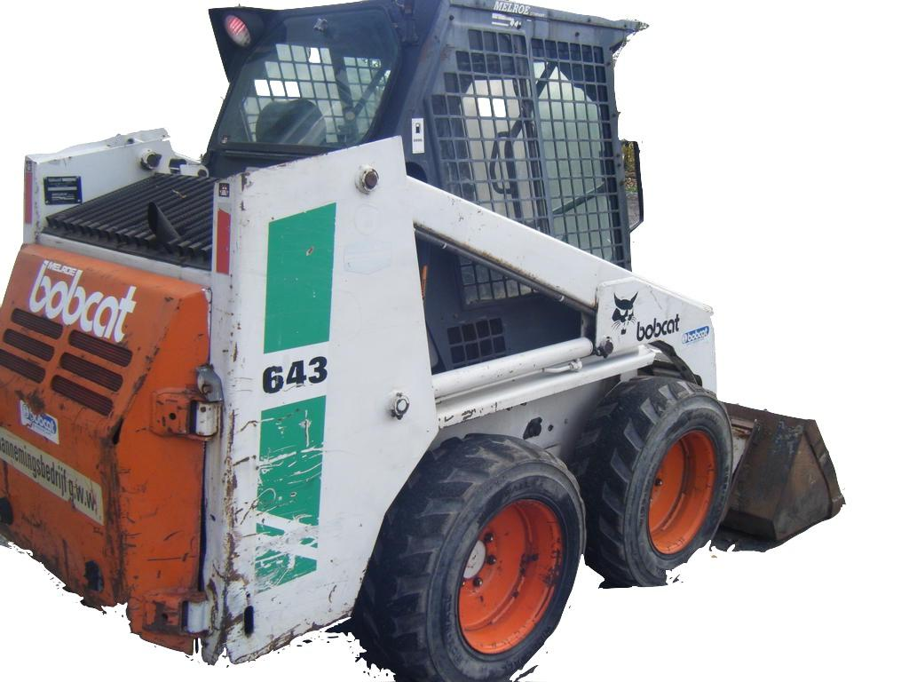 Bobcat 641  642  642b  643 Loader Factory Service  U0026 Shop